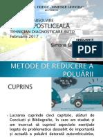 Ppt Absolvire 2017- Tehnician Diagnostic Auto - Simona LUCA