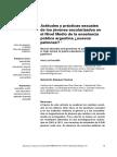 Actitudes y Prácticas Sexuales de Los Jóvenes Escolarizados en El Nivel Medio de La Enseñanza Pública Argentina