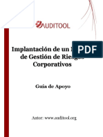guía modulo implantación de un modelo de gestión de riesgos corporativos