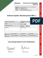 UM 56-03 Betriebssystem MPC 5