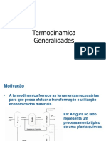Aula 01 Termodinamica - Generalidades