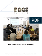 ACS Focus Group - The Summary