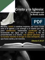 Cristo y La Iglesia Analogia Con La Boda Judia_3!02!2017