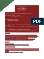 Sample Training Proposal Mtap -Summer Class Enhancement