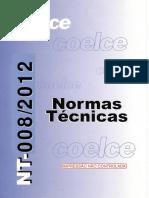 008-2012 NORMA TÉCNICA NT-008-2012 R-02
