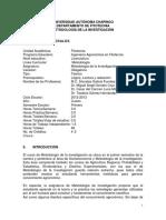 Silabo 41 5 Metodología de La Investigación