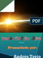Cambio Climático Presentación