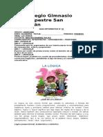 Guía Informativa 01 - Filosofía Undécimo.
