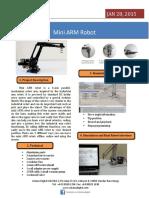 Desktop Robotic Robot Arm for Education