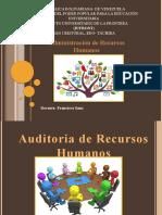 Auditoria de Recursos Humano.