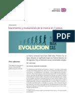 Nacimiento y Evoluciones de La Marca en 7 Pasos