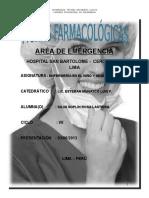 FARMACO DE EMERGENCIA