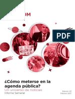 Labcom - Informe Semanal de Agenda Pública - Febrero 17, Semana 2