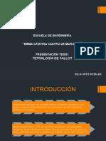 TETRALOGÍA DE FALLOT-DELIA