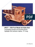 1926 Ford Model AA Stake Bed