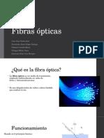 Fibras ópticas