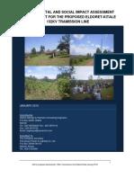 ESIA Report Eldoret-Kitale TL