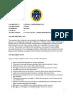 Syllabus General ChemistryI Fall 2015 (1)