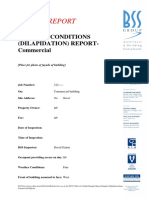 Sample Report Dilapidation Commercial