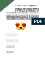 Amor Grande en Versos Pequeños 8