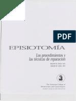 EPISIOTOMIA ACOG ESPAÑOL
