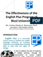 English Plus Evaluation
