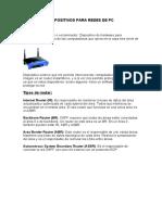 Dispositivos Para Redes de Pc