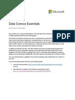 Data Science Technologies