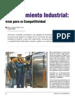 Mantenimiento Industrial- Vital Para La Competetividad