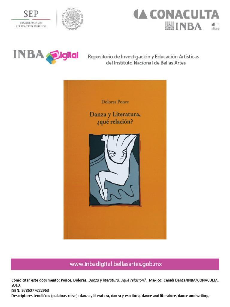 Danza y Literatura