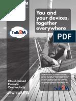 Brochure Talk2M