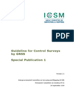 Guideline for Control Surveys by GNSS v2.1