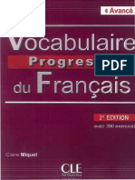 Vocabulaire progressif du franais avec 675 exercices et corrigs fandeluxe Image collections