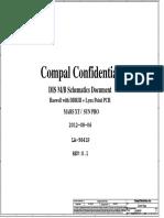 Compal La-9641p r0.1 Schematics
