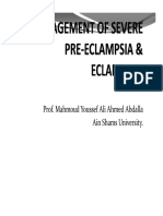 Management Severe Preeclampsia New