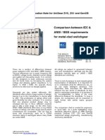 Difference Between IEEE and IEC Standard for HV Metal Clad Switchgear