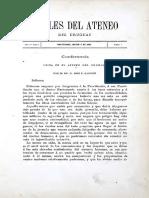 Anales Del Ateneo Del Uruguay a1 t2 n7!5!03-1882