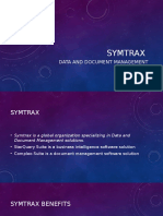 Symtrax Overview