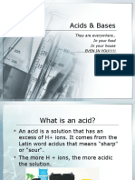 Acid Base Properties