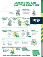 Five Ways to Save Your Baby's Life Poster123_SJA