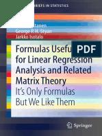 Simo, Styan, Jarkko - Formulas for Linear Regression Analysis.pdf