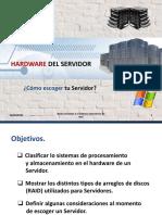 Hardware Del Servidor