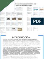 Plan de Desarrollo Concertado Del Distrito de Pisac Al 2025