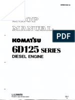 Saa5D125-1 Engine Komatsu