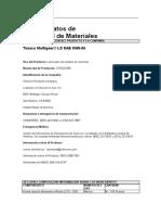 Ficha Seguridad Multigear LS 80w90