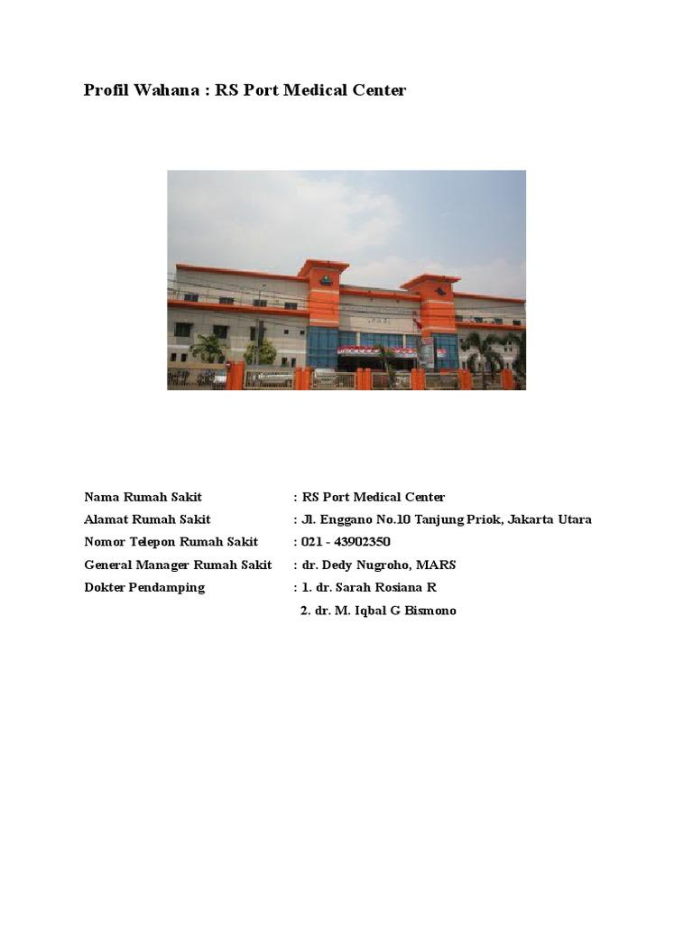 Nomor Telepon Rumah Sakit Pelabuhan Jakarta Utara ...