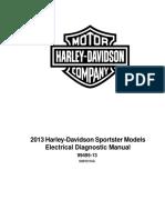 Harley Davidson 2013 Sportster Electrical Diagnostic Manual