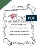 Tarea 002 - Tipos de Contrato, Propiedades de Las Rocas y Clasificacion de Arcilla