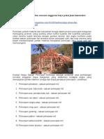 Analisa Harga Satuan Dan Rencana Anggaran Biaya Pekerjaan Konstruksi