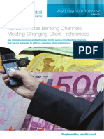 Trends in Retail Banking Channels Meeting Changing Client Preferences